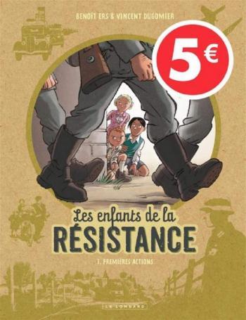 Couverture de l'album Les Enfants de la Résistance - 1. Premières actions
