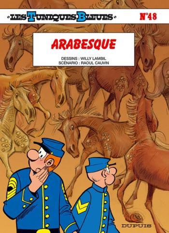Couverture de l'album Les Tuniques bleues - 48. Arabesque