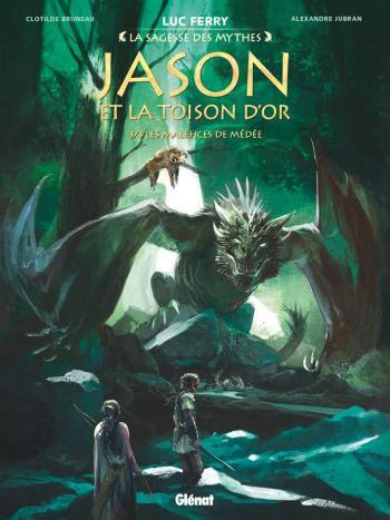 Couverture de l'album Jason et la Toison d'or - 3. Les Maléfices de Médée