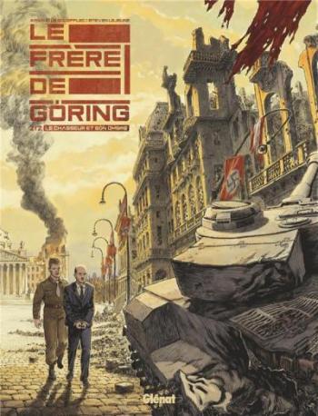 Couverture de l'album Le Frère de Göring - 2. Le chasseur et son ombre