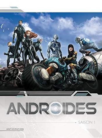 Couverture de l'album Androïdes - COF. Coffret Tome 1 à 4