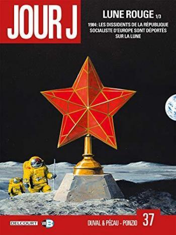 Couverture de l'album Jour J - 37. Lune Rouge