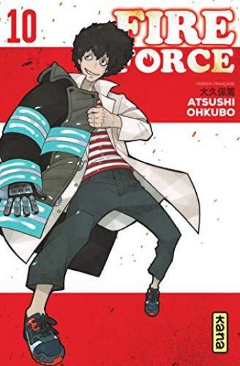 Couverture de l'album Fire Force - 10. Tome 10