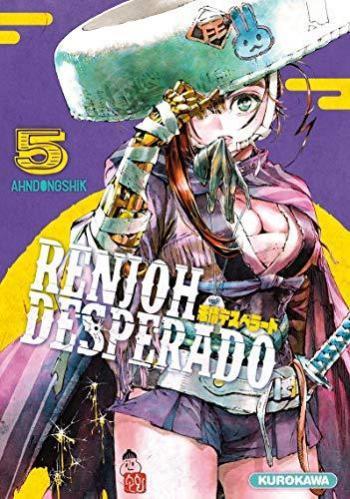Couverture de l'album Renjoh Desperado - 5. Tome 5