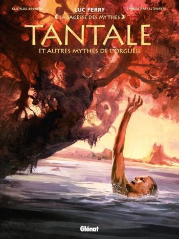 Couverture de l'album Tantale et autres mythes de l'orgueil (One-shot)