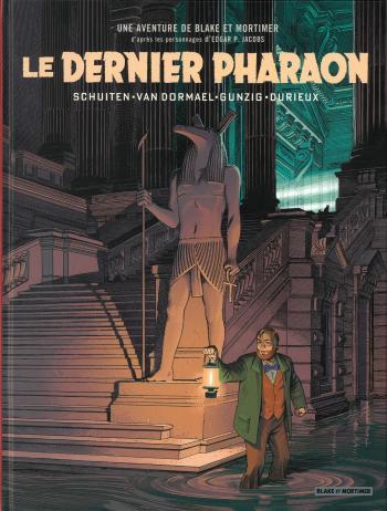 Couverture de l'album Blake et Mortimer (Blake et Mortimer) - HS. Le Dernier Pharaon