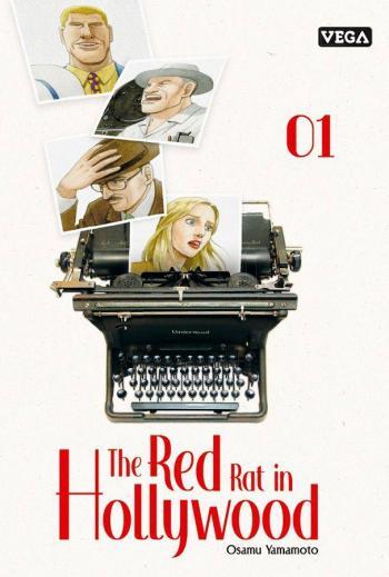 Couverture de l'album The red rat in Hollywood - 1. Vacances romaines et les débuts de la terreur rouge