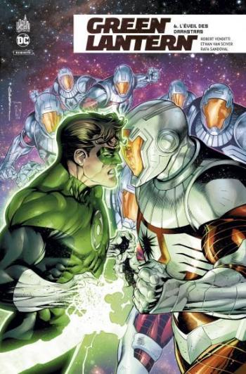 Couverture de l'album Green Lantern Rebirth - 6. L'éveil des Darkstars