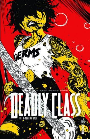 Couverture de l'album Deadly Class - 8. Never go back