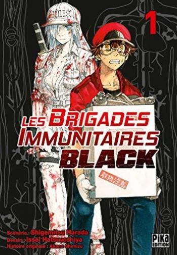 Couverture de l'album Les Brigades Immunitaires Black - 1. Tabagisme, bactéries, le début de la fin