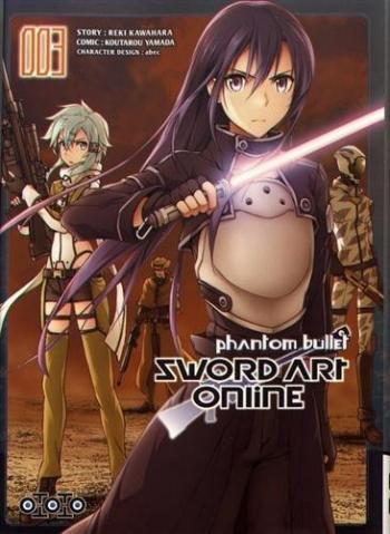 Couverture de l'album Sword Art Online - Phantom Bullet - 3. Tome 3