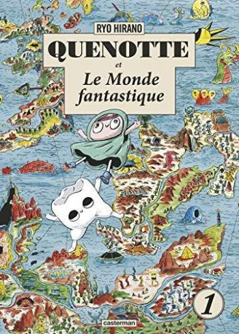 Couverture de l'album Quenotte et le monde fantastique - 1. Tome 1