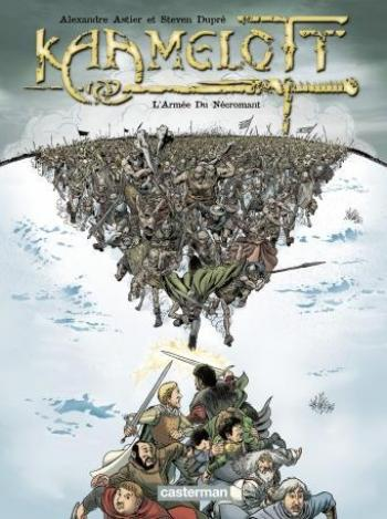 Couverture de l'album Kaamelott - 1. L'armée du Nécromant