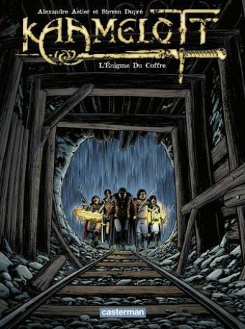 Couverture de l'album Kaamelott - 3. L'Énigme du coffre