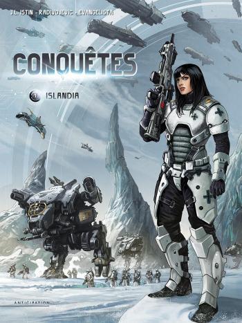 Couverture de l'album Conquêtes - 1. Islandia