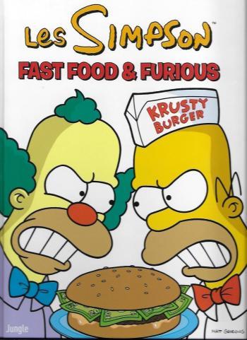 Couverture de l'album Les Simpson (Jungle) - 39. Fast food & furious
