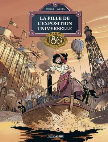 Couverture de l'album La fille de l'exposition universelle - 2. Paris 1867