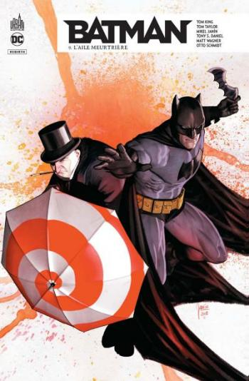 Couverture de l'album Batman Rebirth - 9. L'Aile meurtrière