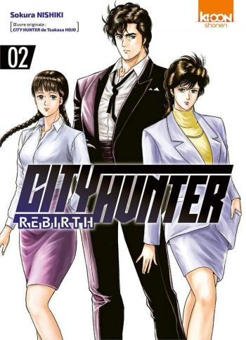 Couverture de l'album City Hunter Rebirth - 2. Tome 2