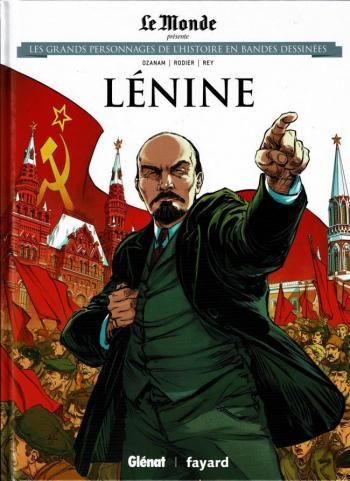 Couverture de l'album Les Grands Personnages de l'Histoire en BD - 7. Lénine