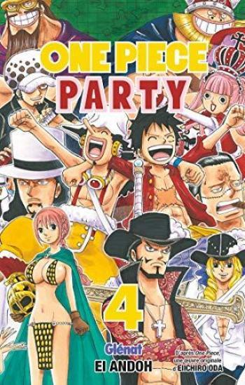 Couverture de l'album One Piece Party - 4. Tome 4