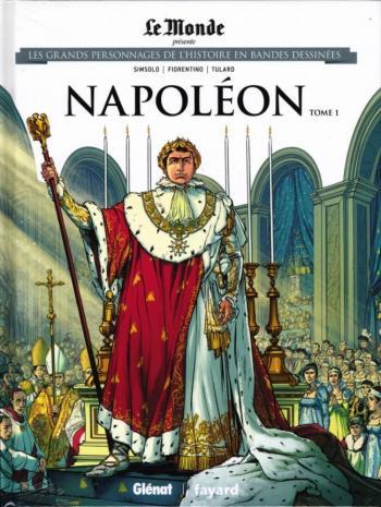 Couverture de l'album Les Grands Personnages de l'Histoire en BD - 9. Napoléon - Tome 1