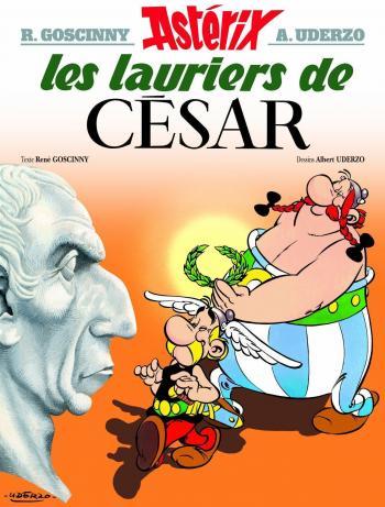 Couverture de l'album Astérix - 18. Les lauriers de César