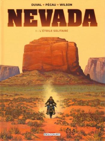 Couverture de l'album Nevada (Delcourt) - 1. L'étoile solitaire