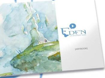 Couverture de l'album Eden - La Seconde Aube - HS. Artbook eden tome 2