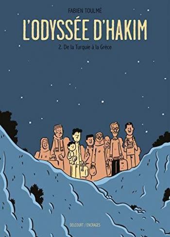 Couverture de l'album L'Odyssée d'Hakim - 2. De la Turquie à la Grèce