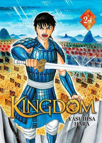 Couverture de l'album Kingdom - 24. Nouvelles manoeuvres des deux génies de Zhao
