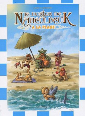 Couverture de l'album Le Donjon de Naheulbeuk - HS. Naheulbeuk à la plage