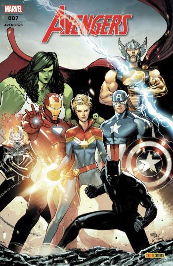 Couverture de l'album Avengers (V6) - 7. Agents du Wakanda