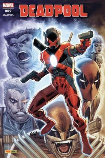 Couverture de l'album Deadpool (V6) - 9. Fresh Start - Deadpool - Tome 9