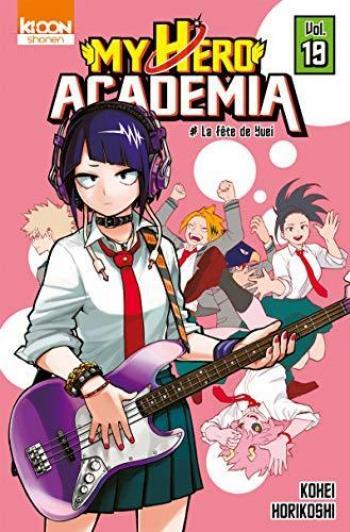 Couverture de l'album My Hero Academia - 19. La fête de Yuei