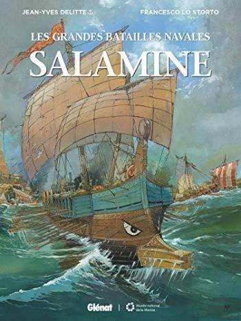 Couverture de l'album Les Grandes Batailles navales - 10. Salamine