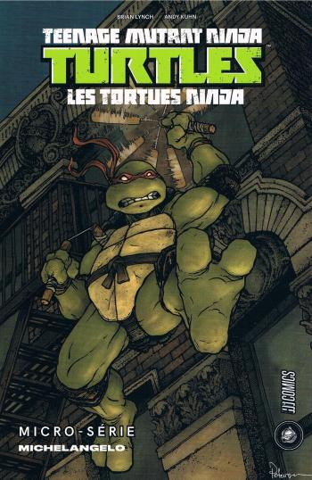 Couverture de l'album Les Tortues Ninja - HS. Micro-série - Michelangelo