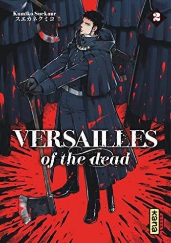 Couverture de l'album Versailles of the dead - 2. Tome 2