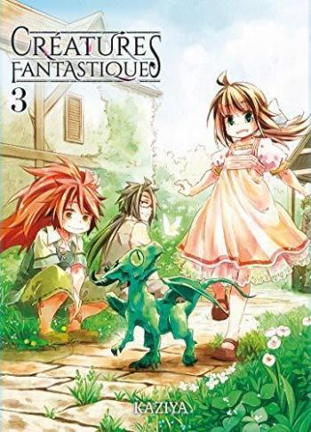 Couverture de l'album Créatures fantastiques - 3. Tome 3