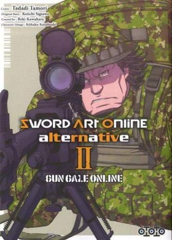 Couverture de l'album Sword Art Online - Alternative - Gun Gale Online - 2. Tome 2
