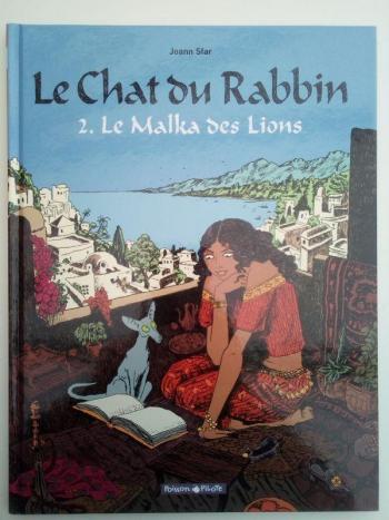 Couverture de l'album Le Chat du Rabbin - 2. Le Malka des lions