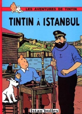 Couverture de l'album Tintin (Pastiches, parodies et pirates) - HS. Tintin à Istanbul