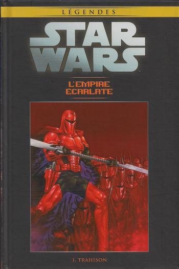 Couverture de l'album Star Wars (Collection Hachette) - 76. L'Empire Ecarlate - I Trahison