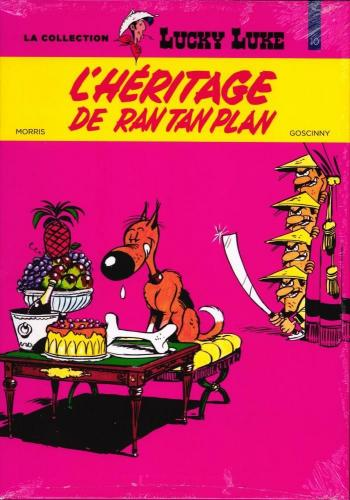 Couverture de l'album Lucky Luke - La Collection (Hachette) - 42. L' héritage de Rantanplan