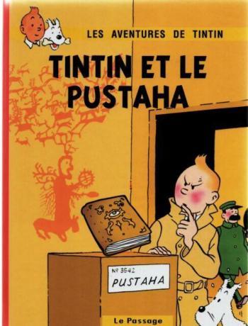 Couverture de l'album Tintin (Pastiches, parodies et pirates) - HS. Tintin et le Pustaha