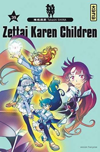 Couverture de l'album Zettai Karen Children - 39. Tome 39