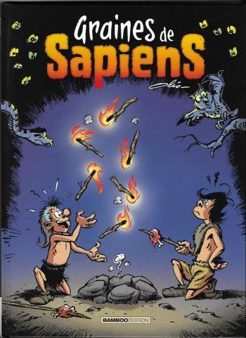Couverture de l'album Graines de Sapiens - 2. Tome 2
