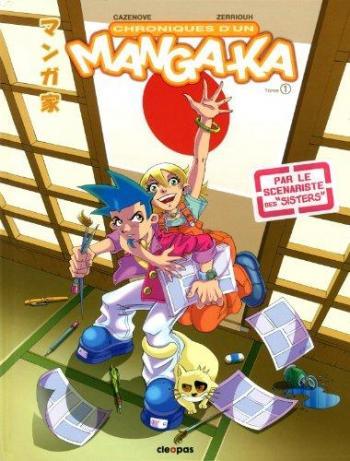 Couverture de l'album Chroniques d'un mangaka - Tome 1