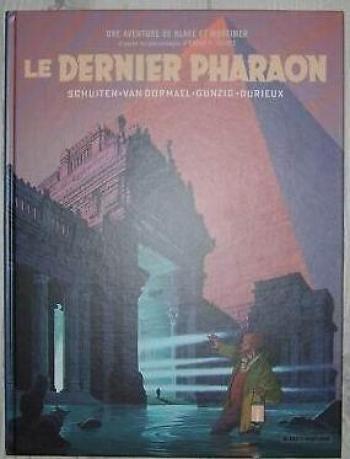 Couverture de l'album Blake et Mortimer (Blake et Mortimer) - HS. blake et mortimer le dernier pharaon