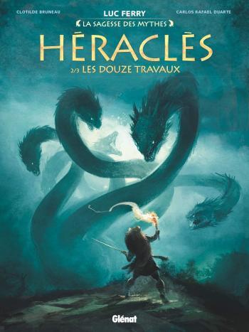Couverture de l'album Héraclès - 2. Les Douze Travaux